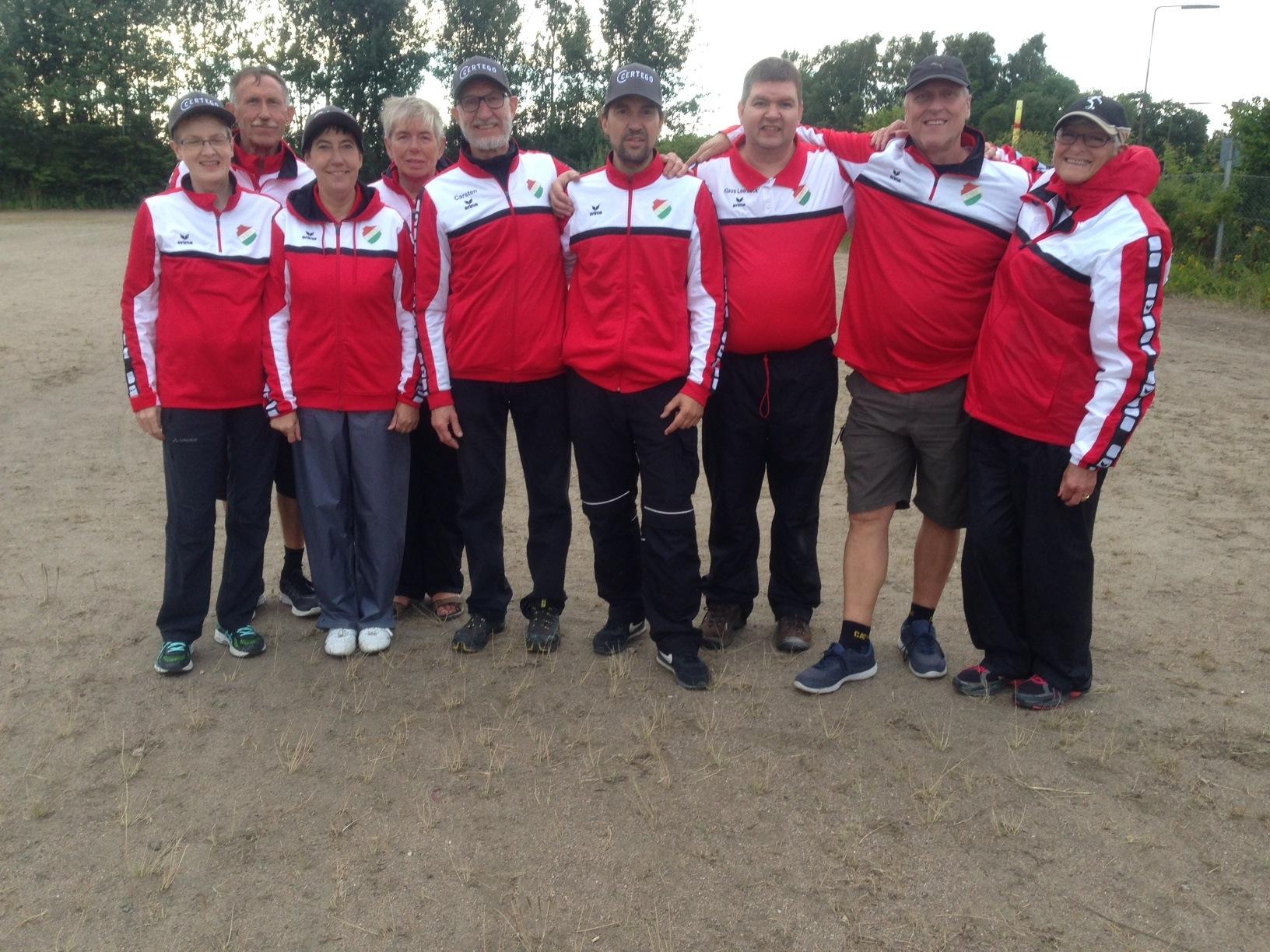 LUI Pétanque´s Danmarksseriehold 13.aug. 2016